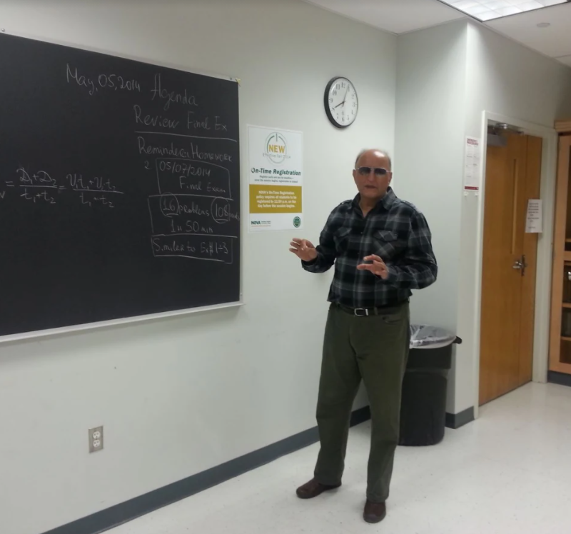 Senior Tutor for mathematics and Physics